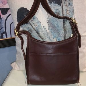 ❣️Coach Brown Leather Vintage Crossbody Purse❣️
